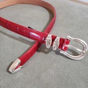 NWT Brighton red belt